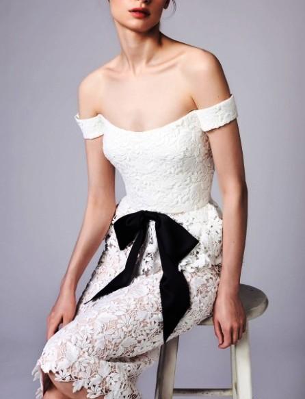 Reem Acra 2018  Круизная коллекция —  женственность и шикарная элегантность