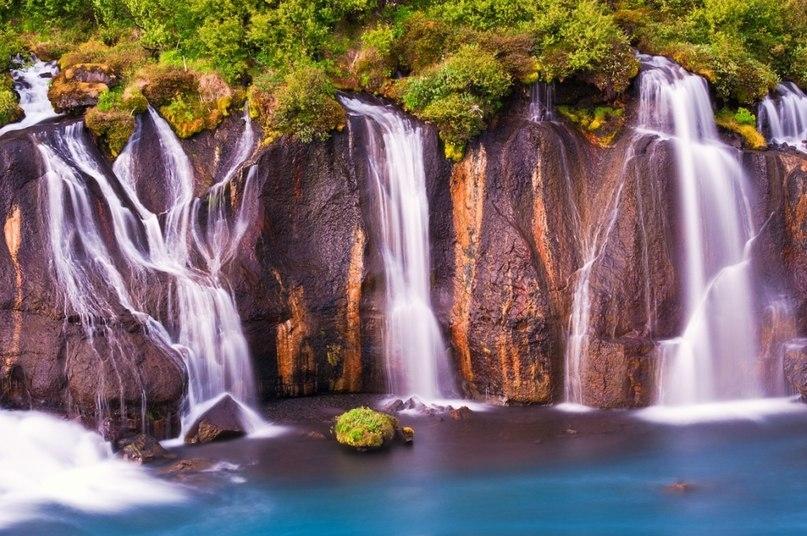 Водопад Хрейнфоссар
