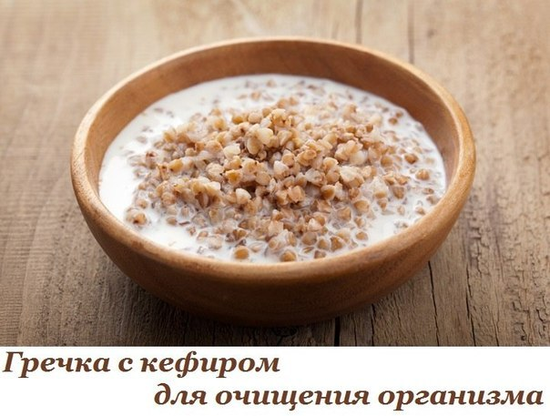 Уникальный рецепт гречки с кефиром для очищения организма. Воистину целебное средство