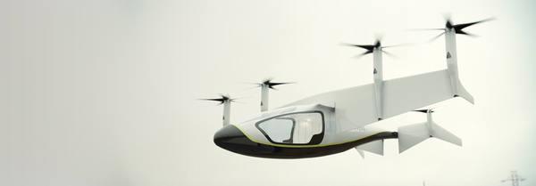 Компания Rolls-Royce показала концепт летающего такси