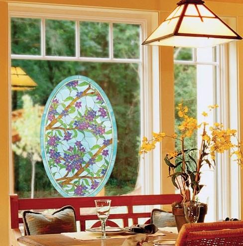 Декоративная пленка на окна