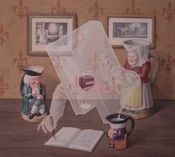 Джонатан Уолстенхолм: Писатель-призрак