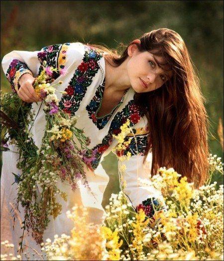 Красота славянских женщин