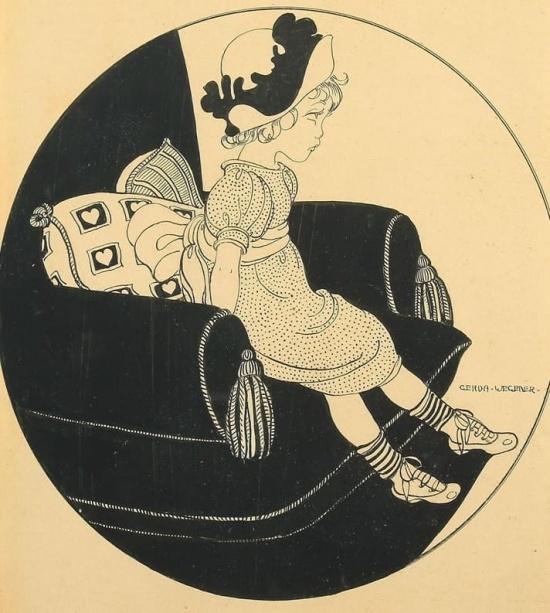художник Герда Вегенер (Gerda Wegener) картины – 11