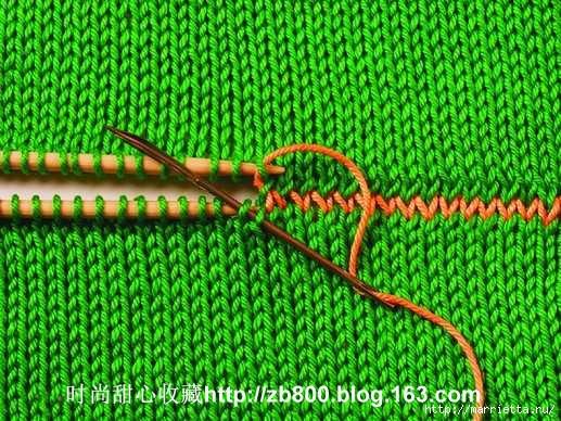 Способы соединения вязаных спицами деталей (33) (517x388, 232Kb)