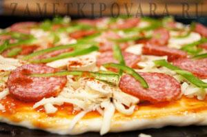 Острая пицца Диабло.