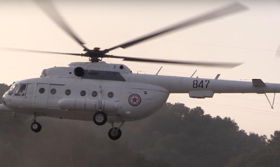 Вертолетный тур по самой закрытой стране мира