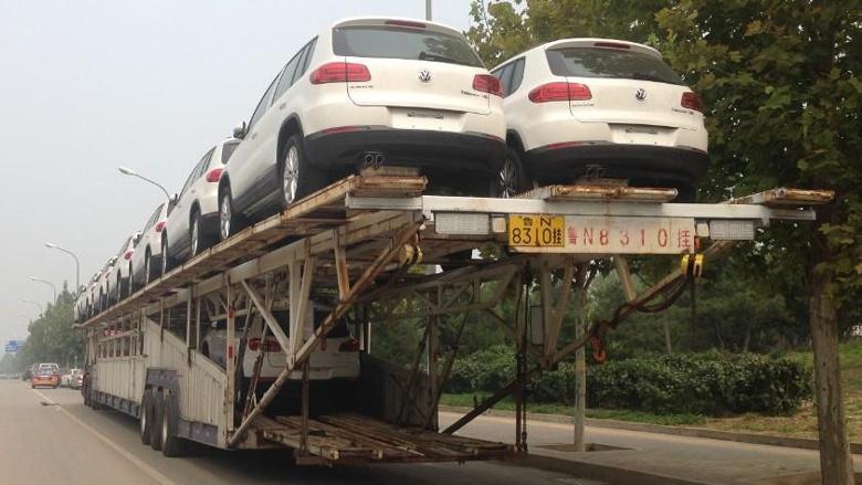 Царь-автовоз замечен в Китае