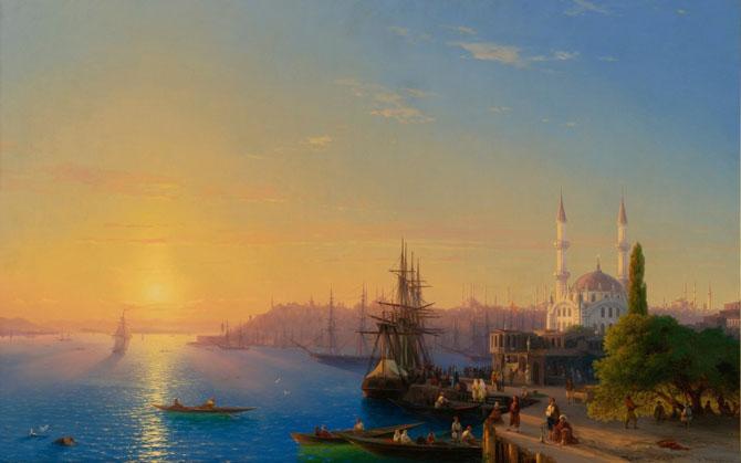 Самые лучшие картины И. К. Айвозовского