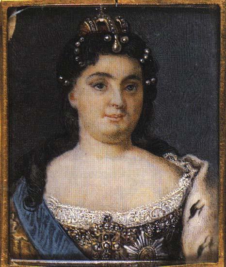 Екатерина I (миниатюра) | Екатерина I Алексеевна | Русская портретная галерея