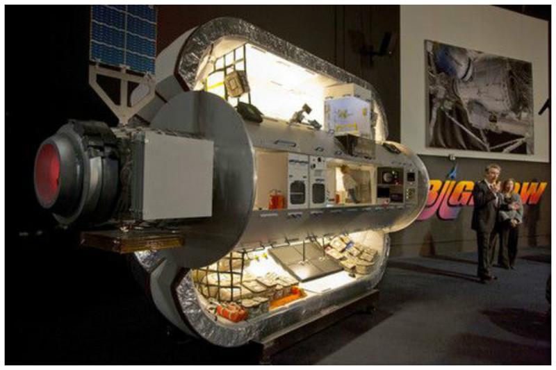 Двухмесячное пребывание в таком бунгало обойдется человеку в 26 миллионов долларов, включая транспортировку. интересное, космический туризм, космос