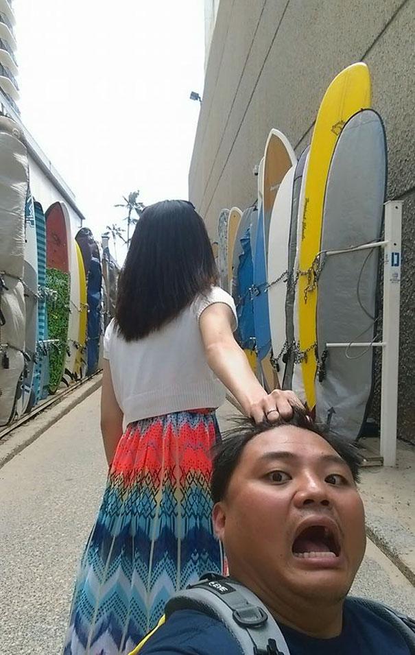 Taiwanese Couple Hilariously Parodies #FollowMeTo Couple