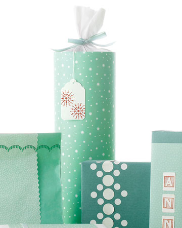 оформление новогодних подарков
