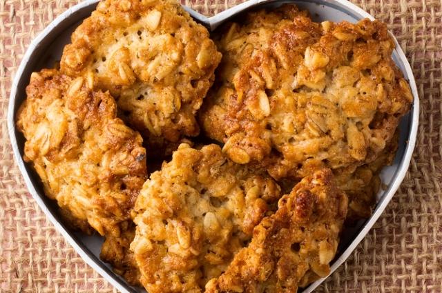 Овсяное печенье без пшеничной муки