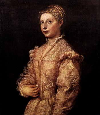 Тициан. Портрет девушки
