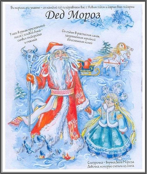 Как называют Деда Мороза в разных странах!