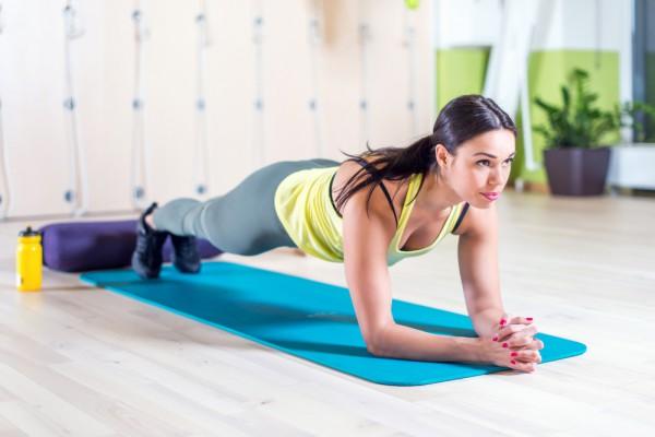Техника выполнения упражнения планка