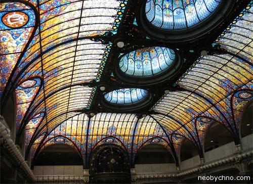 Самые необычные и просто прекрасные потолки