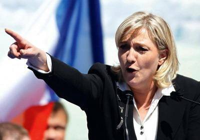 Марин Ле Пен будут судить за сравнение мусульман с нацистами