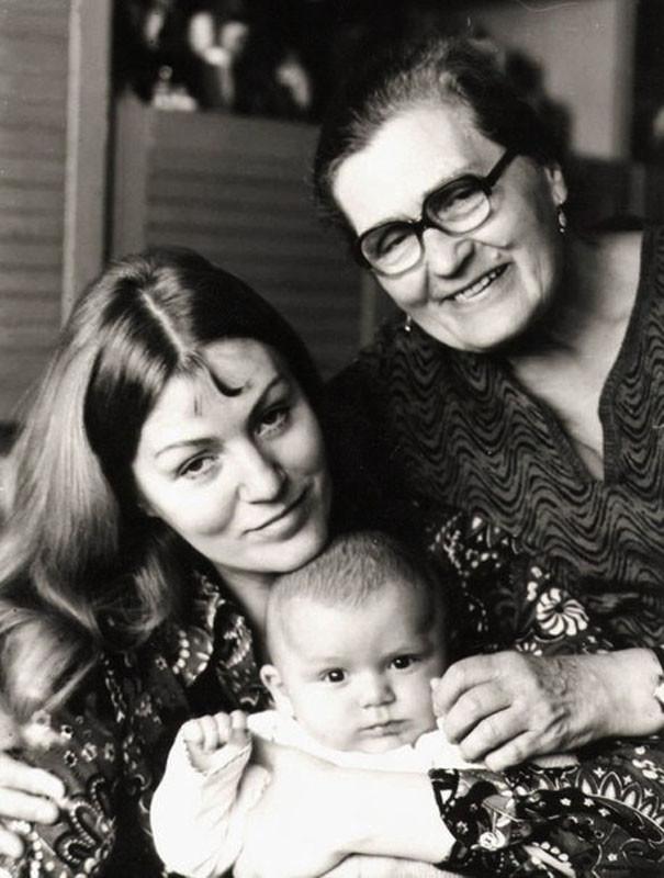 32. Анна Герман с сыном Збышеком и мамой Ирмой Давыдовной история, факты