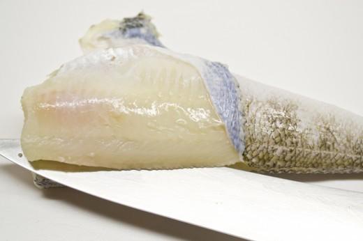 Рыба в кляре со свекольным пюре - блюдо, которое хочется приготовить