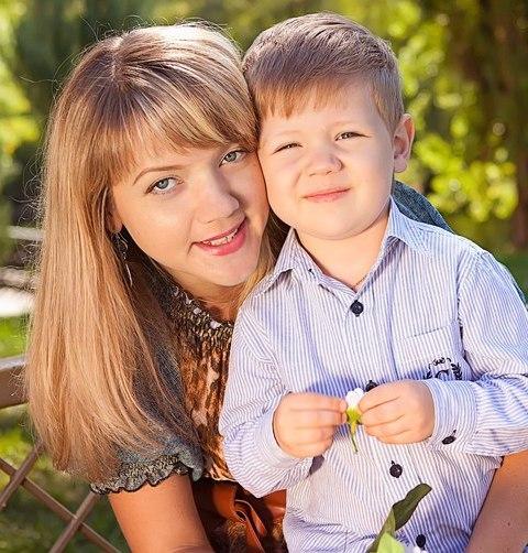 фотогалерея мамочка с сыном