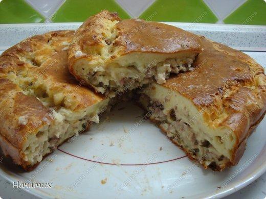 Кулинария Мастер-класс Рецепт кулинарный Нежнейший пирог из капусты с мясом Продукты пищевые фото 10
