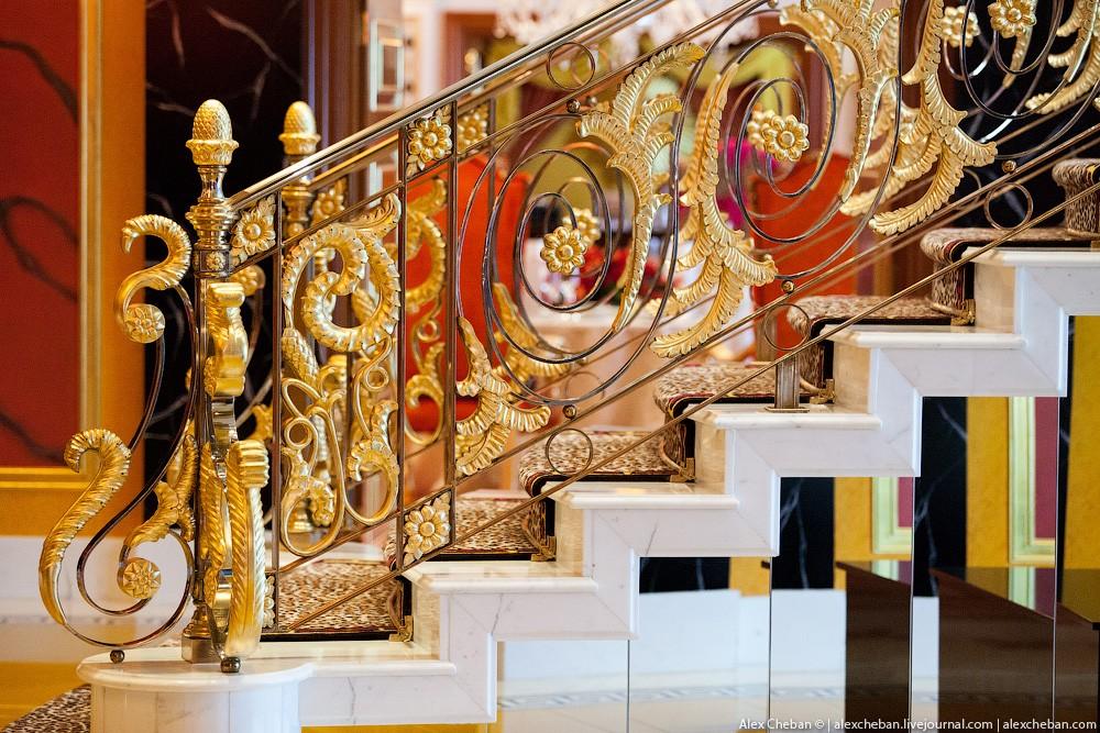 BurjAlArab17 Золото для шейхов и олигархов: самый дорогой номер в семизвездочном отеле Burj Al Arab