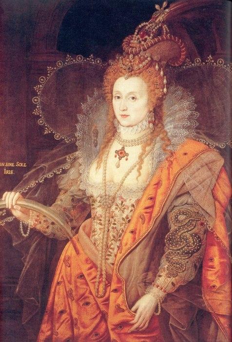 Елизавета I, Королева Англии и Ирландии с 1558 по 1603 гг.