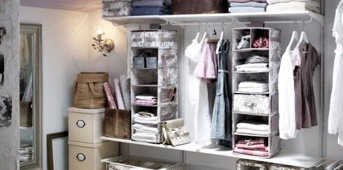 Как создать гардеробную в  небольшой квартире