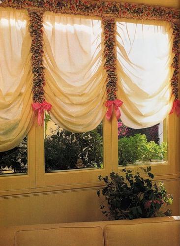 Кухонные шторы своими руками мастер класс 26