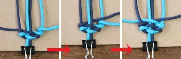 Способы плетения из шнурков
