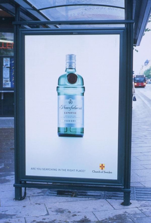 PEACEFULNESS, The Church Of Sweden, Paradiset DDB, Печатная реклама