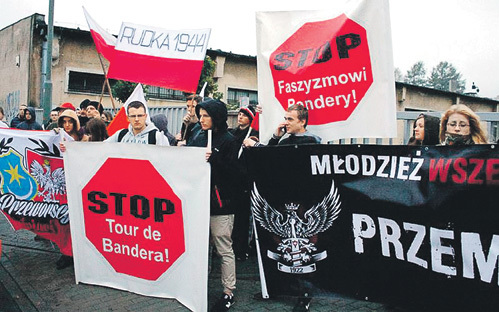 «Порошенко - враг Польши!» -…