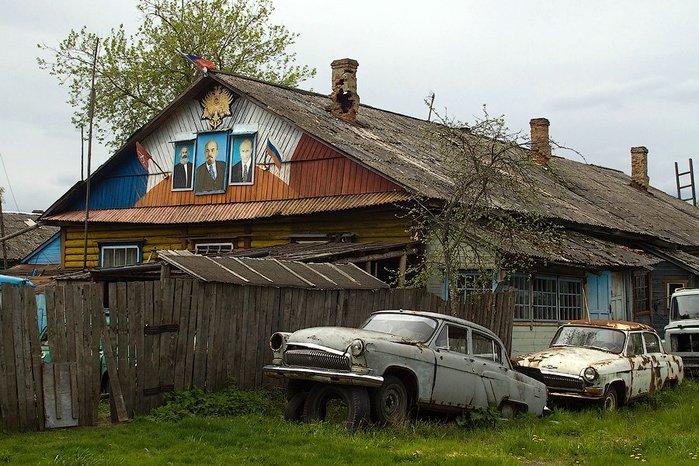 российские глубинки фото