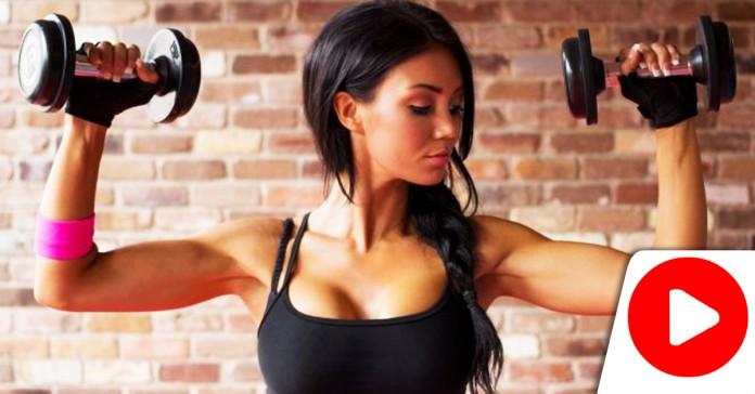 Упражнение за 1 минуту! Избавит от дряблой кожи на руках за 1 неделю