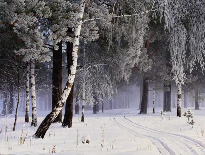 пейзажи художник Александр Игнатьев - 03