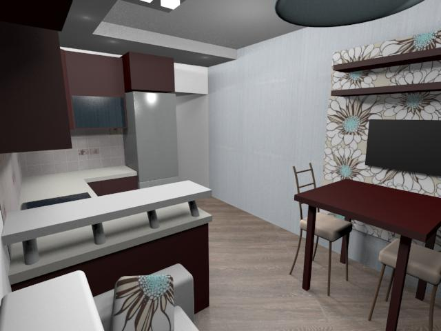 Кухня гостиная 9 кв.м дизайн фото