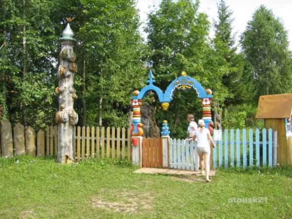 Музей деревянных скульптур под открытым небом Егора Утробина