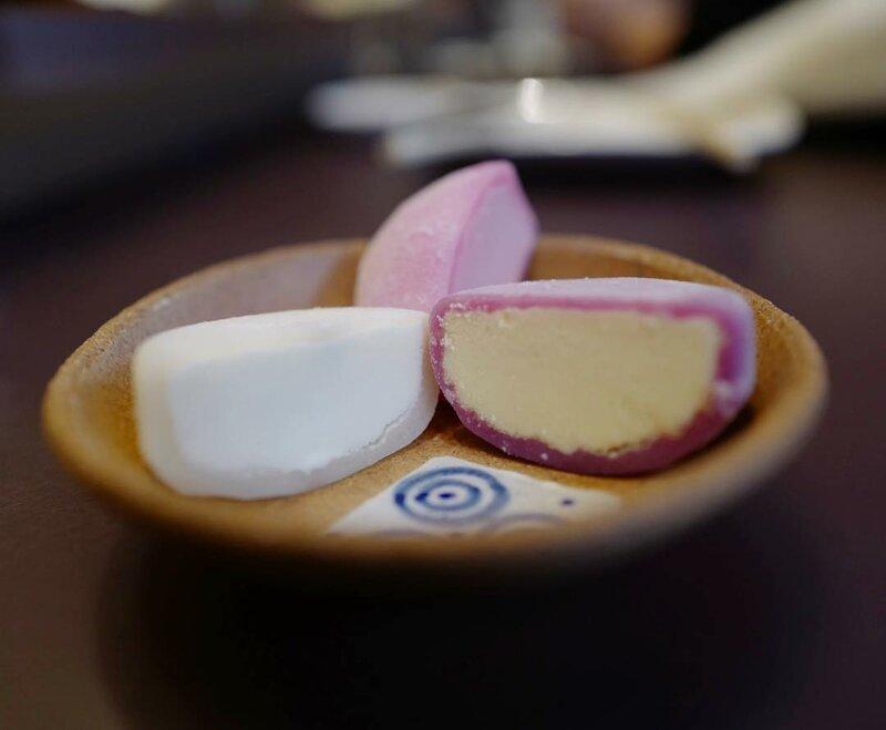 Mochi (Мочи, Моти) вкусно, еда, необычные продукты, сладости, япония