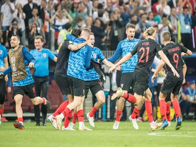 Правительство Хорватии пришло на заседание в футболках сборной после победы над англичанами