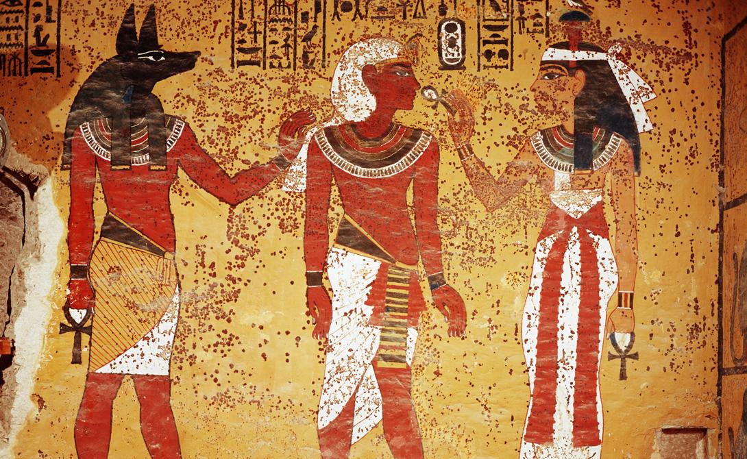 Демоны Были у египтян и свои демоны. Они играли важную роль в системах древних верований. Египетские демоны были слабее богов, но также обладали бессмертием и могли присутствовать в нескольких местах одновременно.