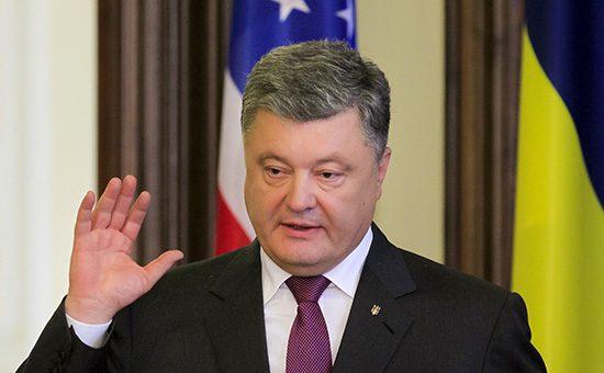 Порошенко предложил США обсудить ввод в Донбасс миротворцев ООН
