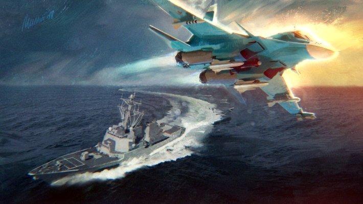 Багдасаров назвал потопленный эсминец у берегов Сирии лучшим ответом России на санкции США