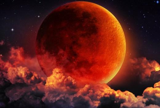 Кровавое лунное затмение 27 …