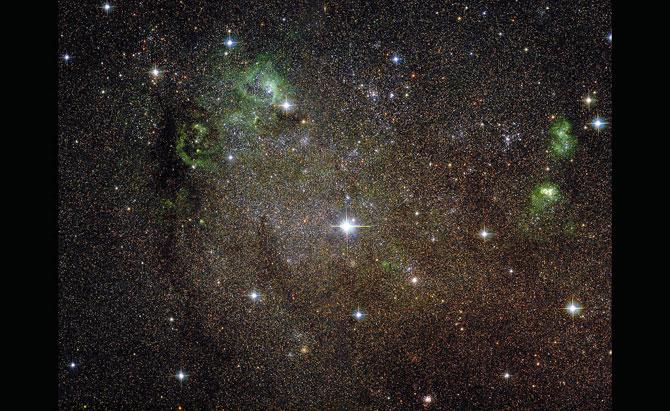 Скрытые сокровища телескопа Хаббл