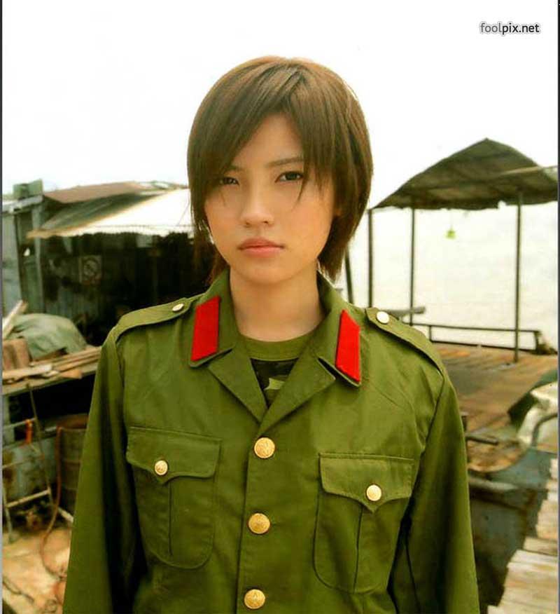 Девушки на службе в армии фото 37