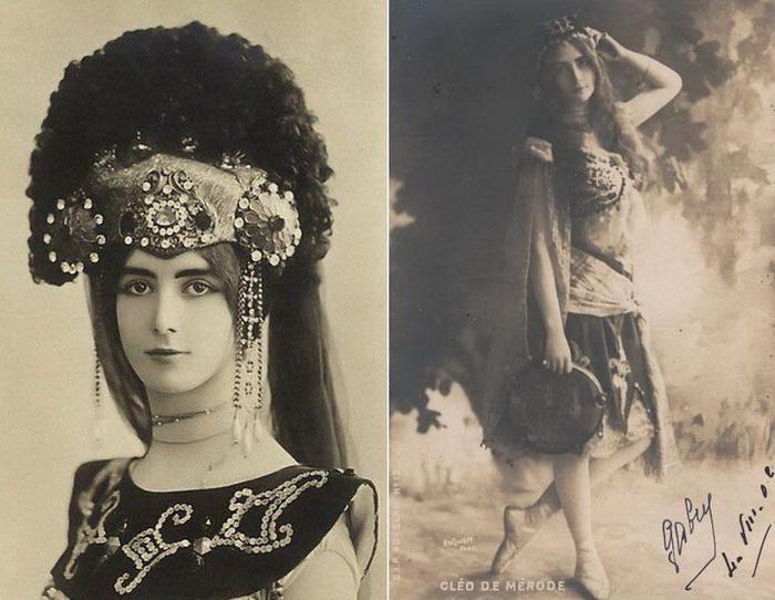 Французская танцовщица Клео де Мерод
