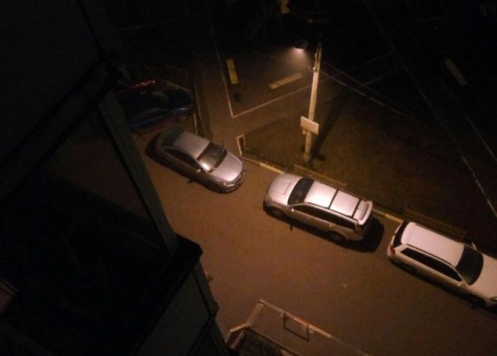 Ответ жильцов на хамскую парковку