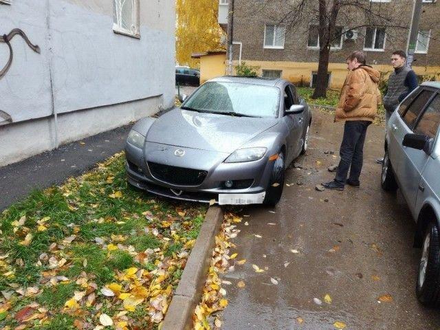 Жесткое наказание за неправильную парковку